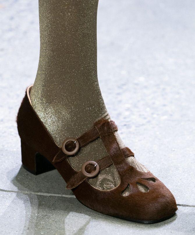 Модні туфлі осінь 2020: від елегантної класики до вишуканої сучасності 9