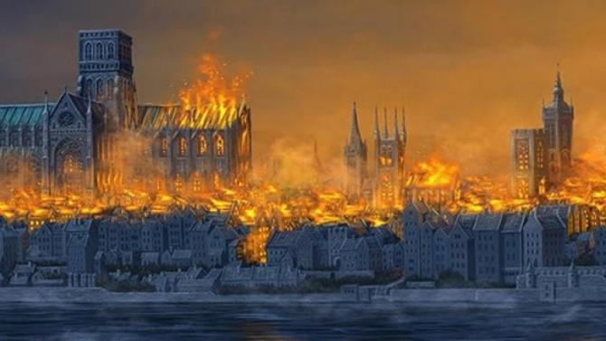 Велика пожежа в Лондоні