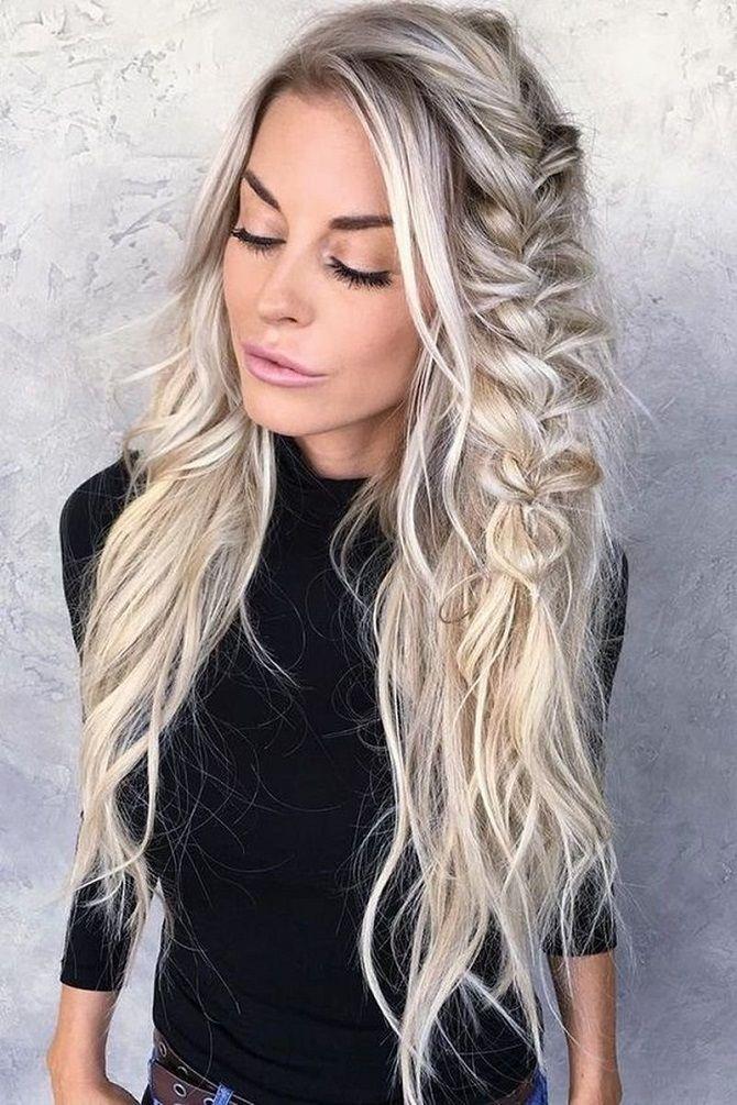 Модный цвет волос 2019: фото