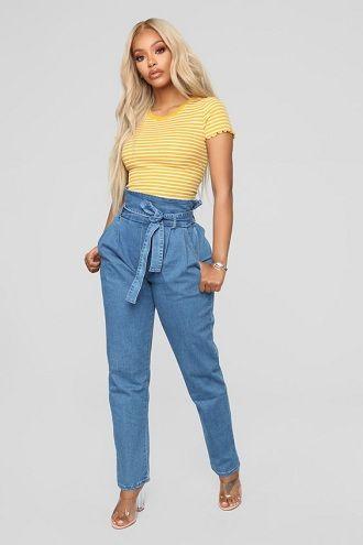 джинсы осень 2019