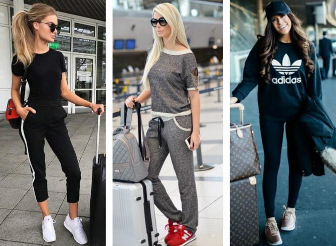 девушки в аэропорту