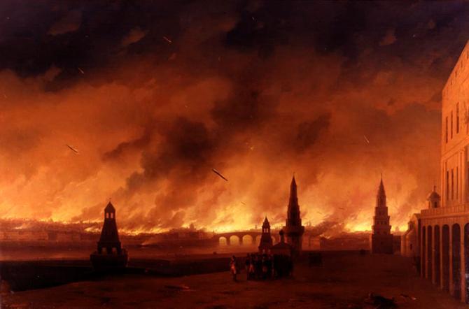 5 самых страшных пожаров в истории человечества 1