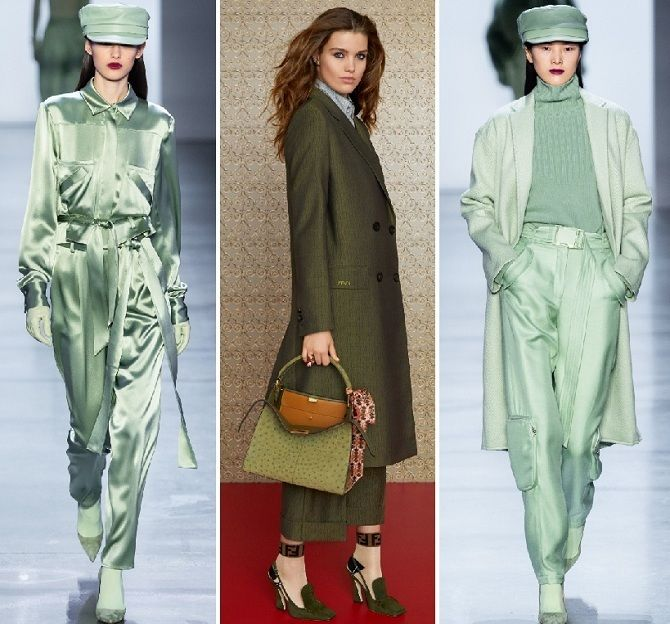 Палаццо, бананы и галифе: самые стильные брюки осень-зима 2020-2021 10