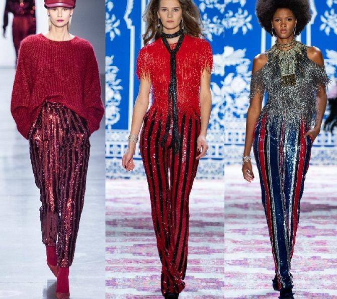 Палаццо, бананы и галифе: самые стильные брюки осень-зима 2020-2021 11