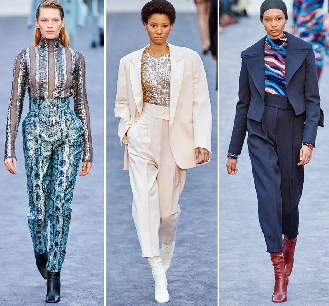стильні брюки осінь-зима 2019-2020