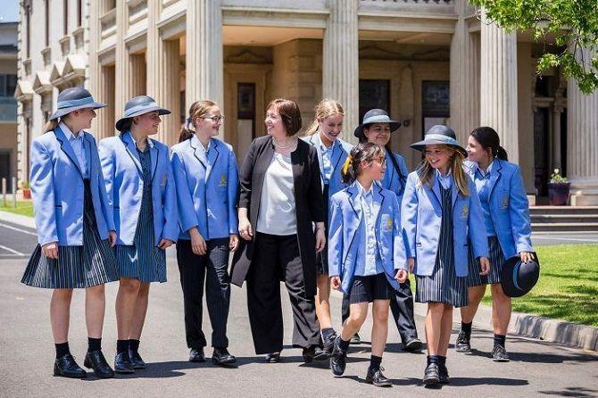 школьники Австралии