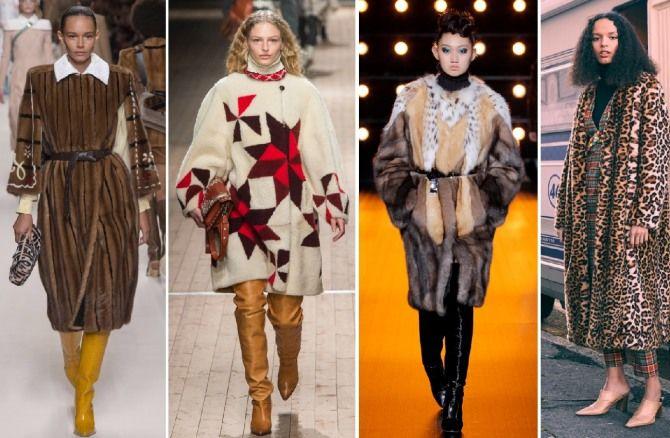 мода пальто 2019 2020