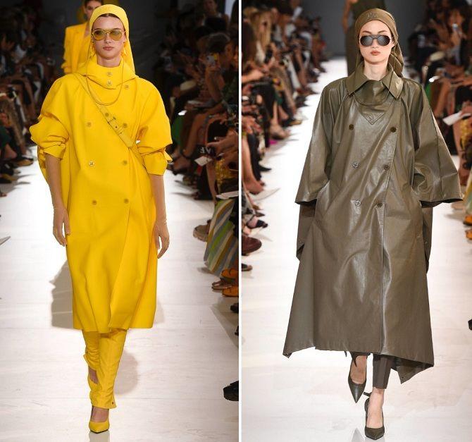 Модные плащи 2019-2020