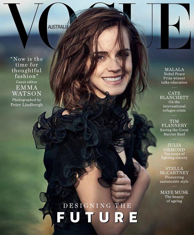 емма Уотсондля Vogue Australia