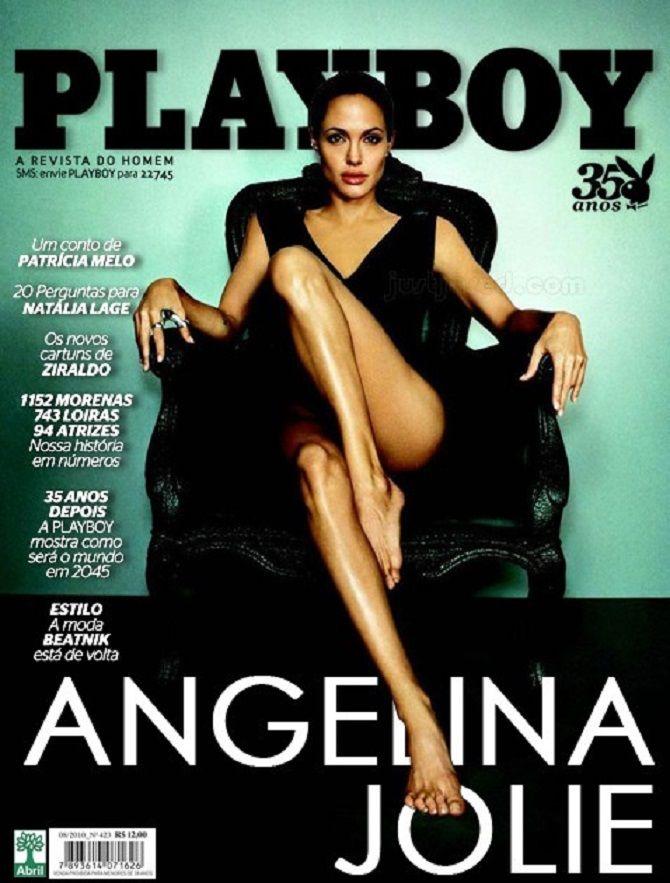 Анджелина Джоли   плейбой