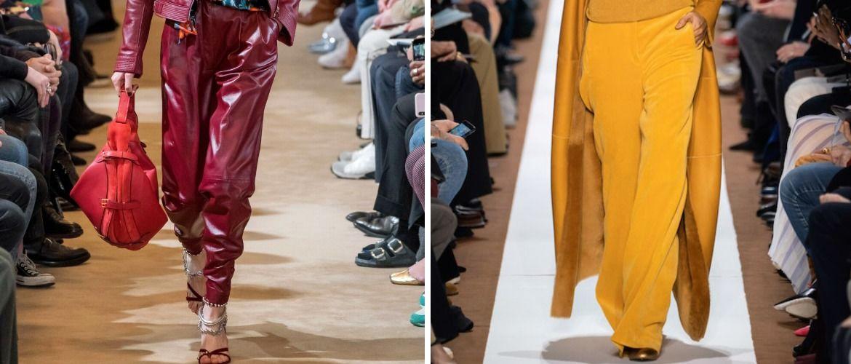 Палаццо, бананы и галифе: самые стильные брюки осень-зима 2020-2021