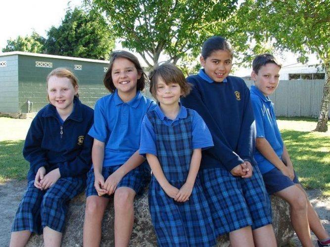 школьники Новой Зеландии