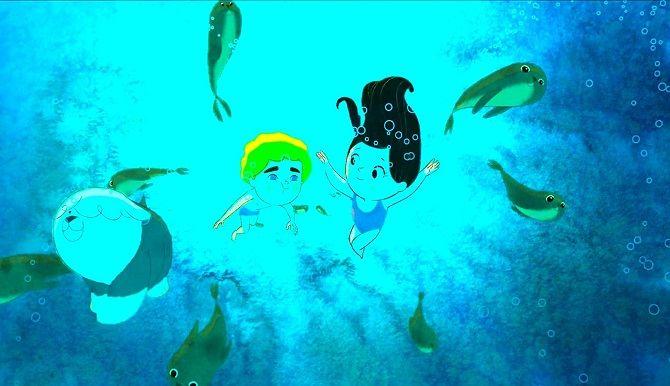 мультик Пісня моря