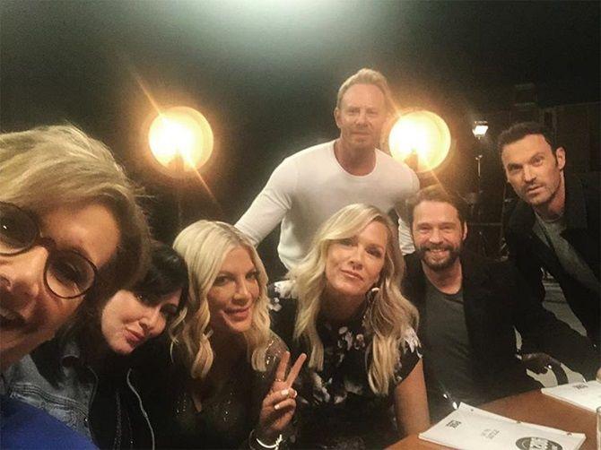 серіал Беверлі-Хіллз 90210 Стів Сандерс - Ян Зірінг