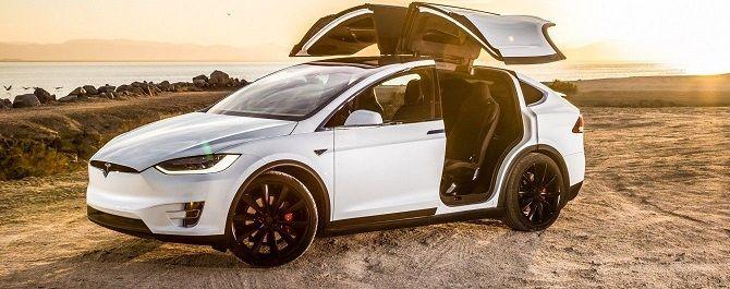 кроссовер від Tesla Motors: Model X