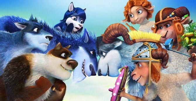 мультфільм Вовки і вівці