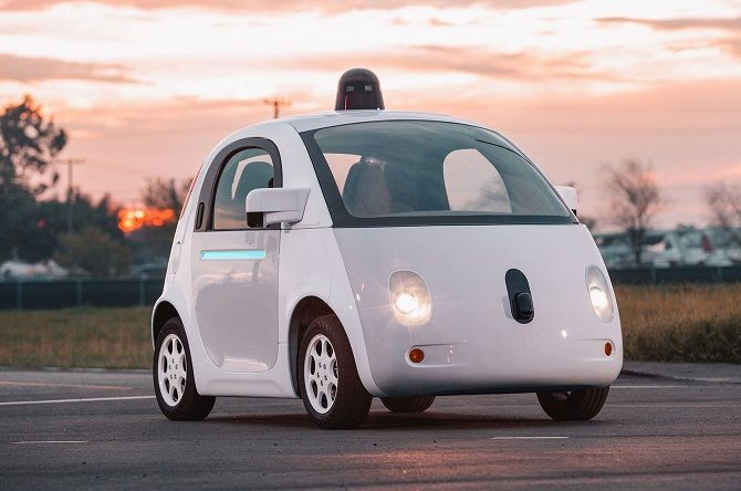 Self-Driving Car от Google