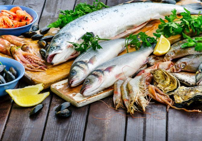 Риба і морепродукти