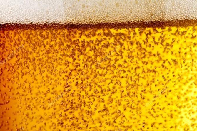 пузырьки пива