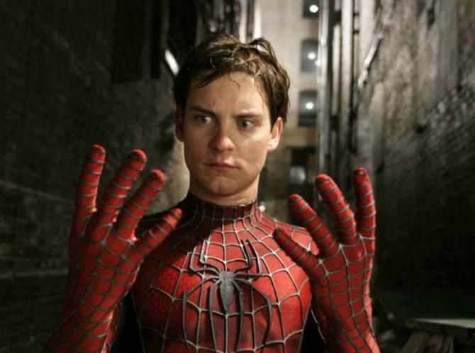Людина-павук у виконанні Тобі Магуайр