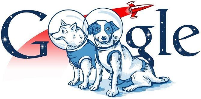 день рождения гугл дудл с собаками