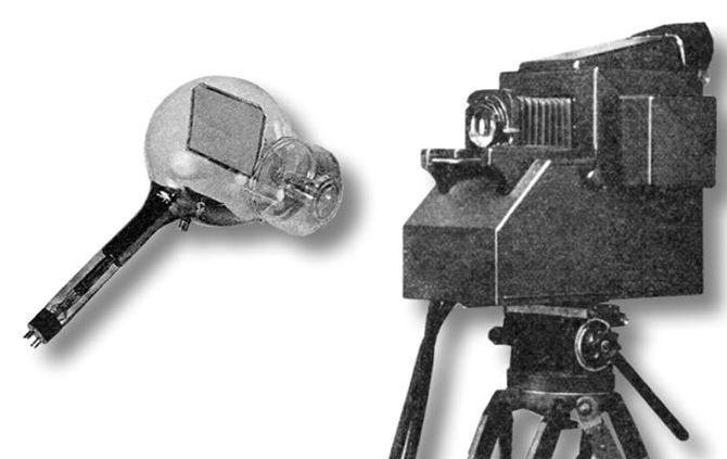 Іконоскоп та кінескоп