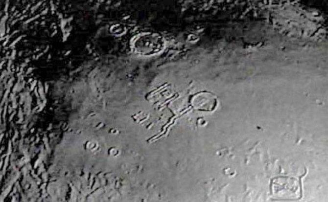 фото поверхності місяць