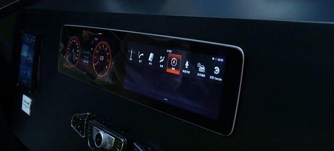 Электронная панель приборов для автомобиля