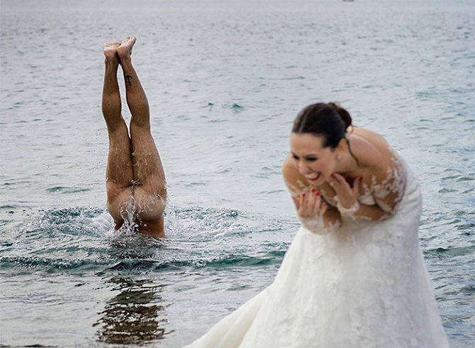невеста голый мужик