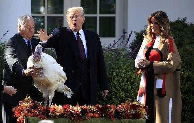 День благодарения 2019 трамп