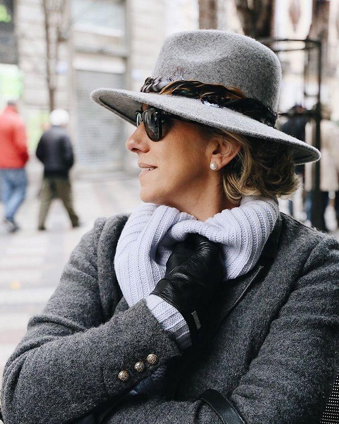 мода для женщин за 50