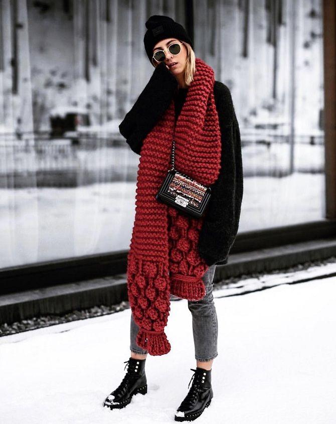 модные шарфы осень-зима 2019-2020