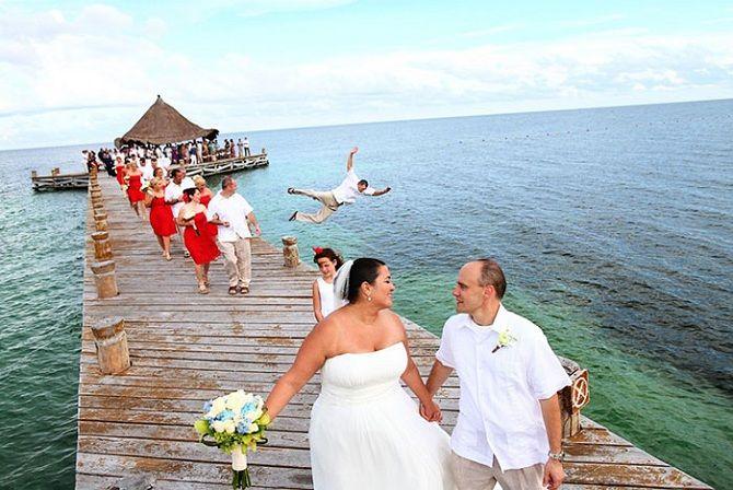 смешные свадебные фотом