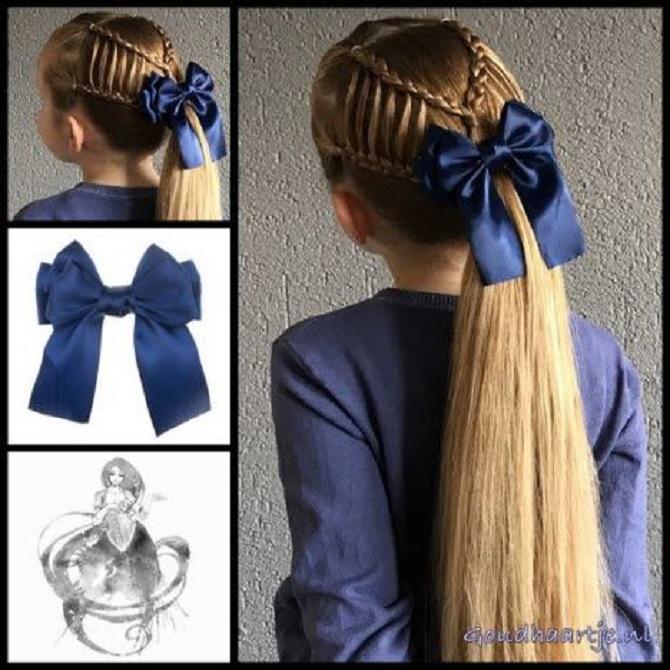 банты в волосах