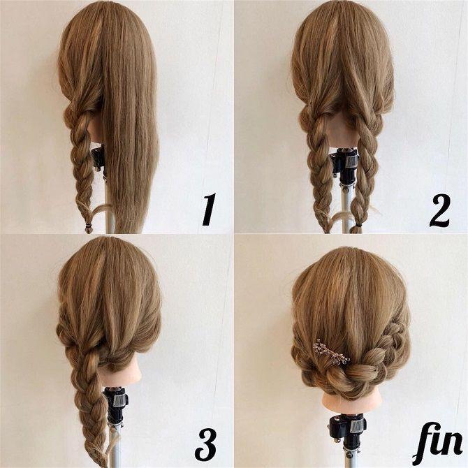плетение кос поэтапно