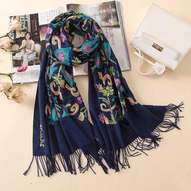 палатин модные шарфы осень-зима 2019-2020