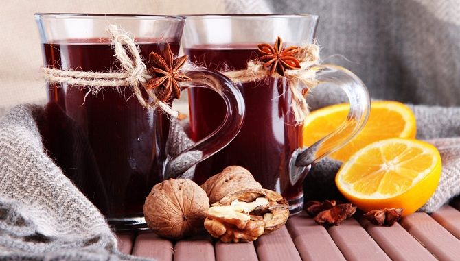 Non-alcohol mulled wine