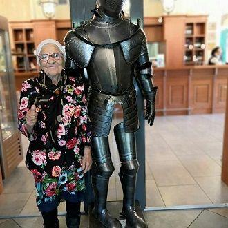 бабушка путешественница