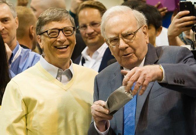 Билл Гейтс и Уоррен Баффет