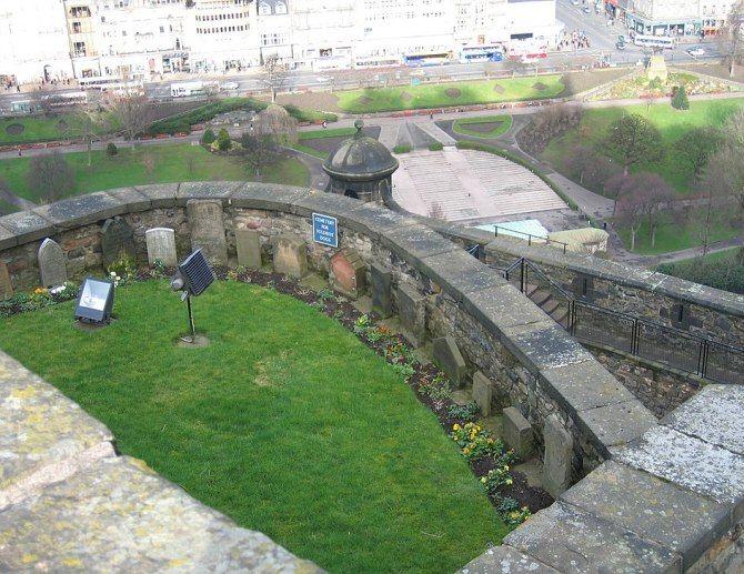 Единбурзький замок (Шотландія).