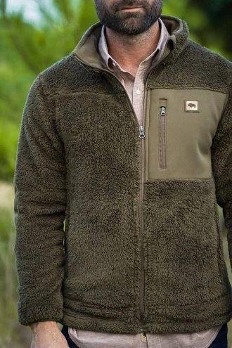 мужские куртки флисовые  осень-зима 2019-2020