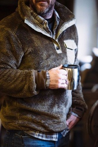 мужские куртки из флиса осень-зима 2019-2020