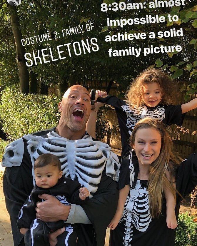 детские костюмы на Хэллоуин 2019 Дуэйн «Скала» Джонсон,