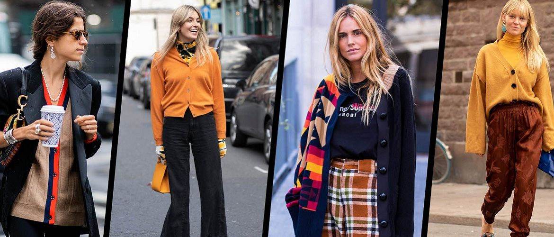 Вязаный, классический или в стиле бохо: модные кардиганы осень-зима 2019-2020