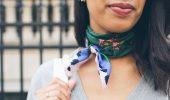 Стилисты рекомендуют: как модно завязать платок в 2019 году?