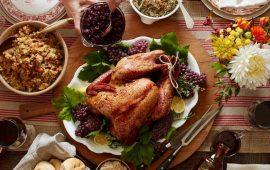 блюда на день благодарения