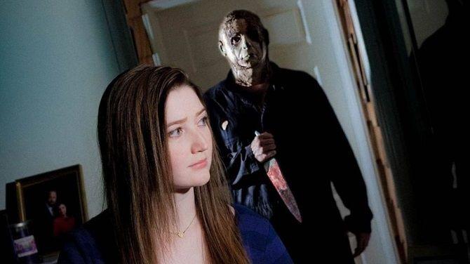 Кадр из фильма «Хэллоуин: Ночь, когда умерло зло» (2017)