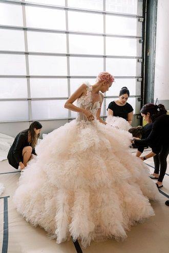 юбка для платья невесты