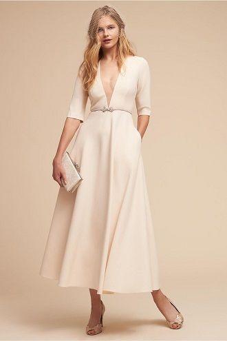 платье невесты с карманами
