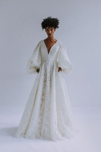 наряд невесты с карманами
